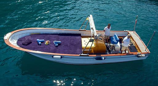Capri Boat Service - Tour luxury na ilha em lancia ou gozzo Fratelli Aprea