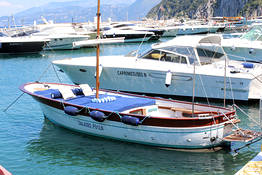 Capri Boat Service Luxury - Boat Tour of Capri by Luxury Gozzo from Positano/Amalfi
