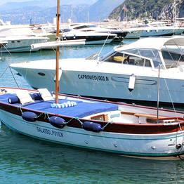 Tour di Capri su gozzo luxury con partenza da Sorrento