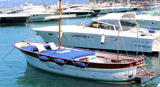 Capri Boat Service Luxury - Tour Capri Gozzo luxury da Positano, Amalfi o Sorrento