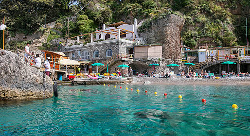 Bagni di Tiberio - Island Boat Tour + Restaurant + Beach: All-inclusive