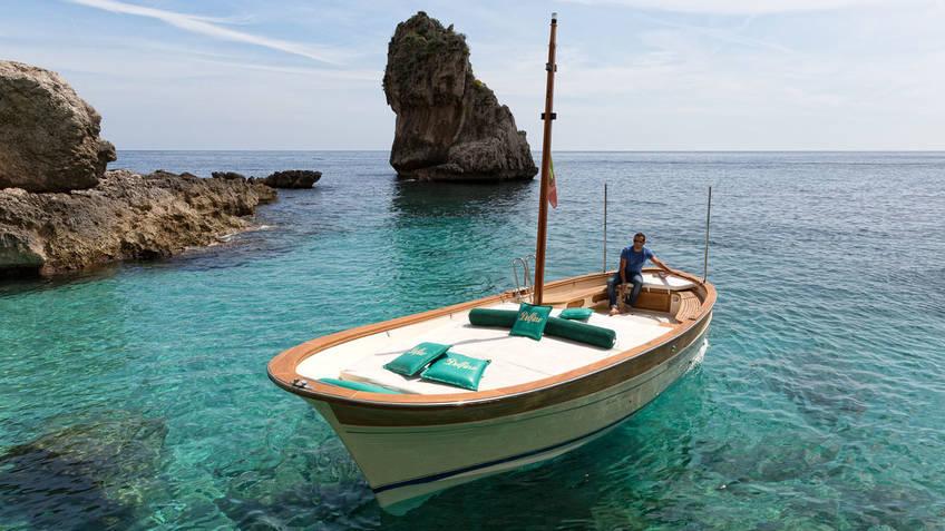 Bagni Tiberio Boats - Island Boat Tour + Restaurant + Beach: All-inclusive