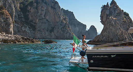 Priore Capri Boats Excursions - Tour de Capri em lancha Itama 40