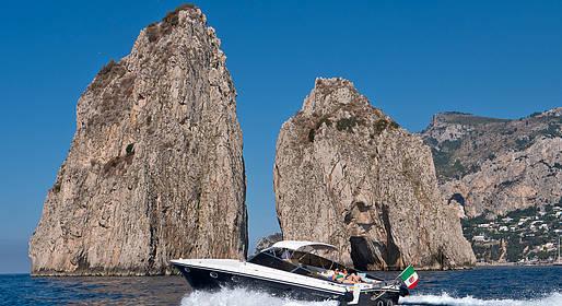 Priore Capri Boats Excursions - Transfer Castellammare di Stabia - Capri or viceversa