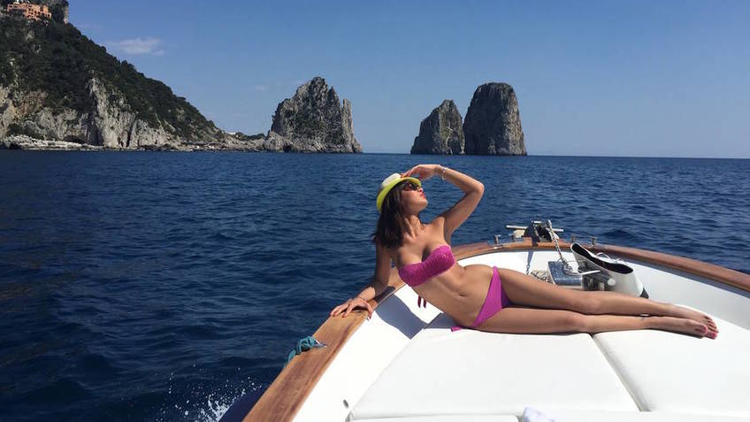 Capri Boat Service - Selfie-tour ai Faraglioni BEST SELLER 1 H