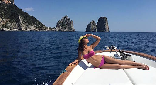 Capri Boat Service - Photo Tour for Selfies Beneath the Faraglioni