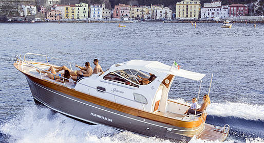 Restart Boat - Tour Capri + Amalfi Coast by boat
