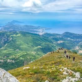 Cartotrekking - Tre giorni di trekking sull'Alta Via dei Monti Lattari